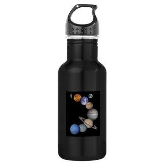 Sonnensystem Trinkflasche