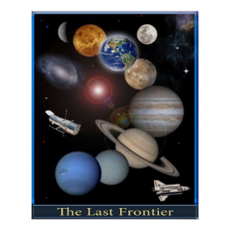 Sonnensystemraumplakat Poster