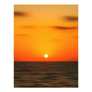 Sonnenuntergang 21,6 X 27,9 Cm Flyer