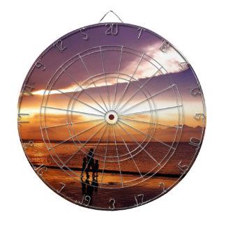 Sonnenuntergang 2 dartscheibe