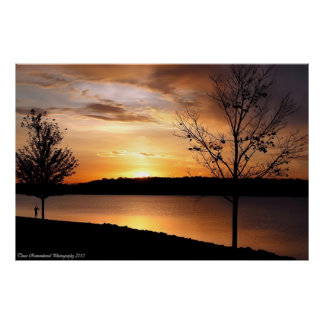 Sonnenuntergang #6 plakat