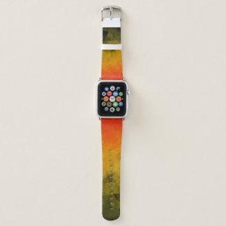 Sonnenuntergang-abstrakte Facetten - Apple Watch Armband