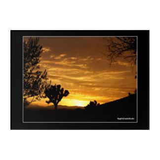 Sonnenuntergang Acryldruck