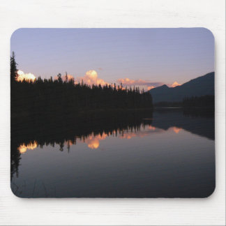 Sonnenuntergang am Mosquito Lake, British Columbia Mousepad