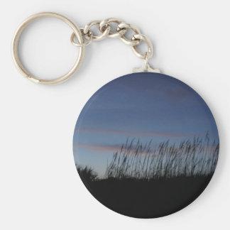 Sonnenuntergang am Strand Schlüsselanhänger