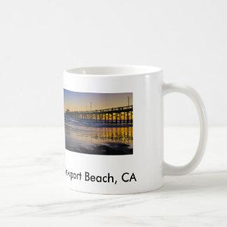 Sonnenuntergang am Strand Tasse