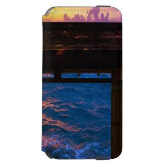 Sonnenuntergang an der Paradies-Bucht Incipio Watson™ iPhone 6 Geldbörsen Hülle