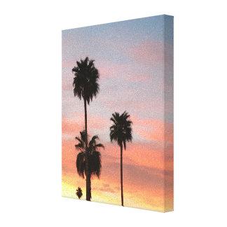 Sonnenuntergang Arizona Leinwanddruck