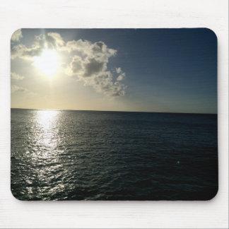 Sonnenuntergang auf der OzeanMausunterlage Mauspad