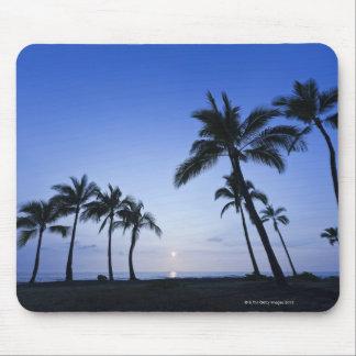 Sonnenuntergang auf Kahaluu Bucht in Kona, Hawaii Mauspads