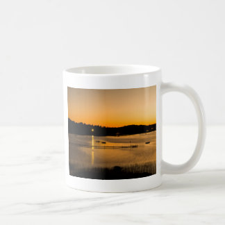 Sonnenuntergang auf Pickerel See Kaffeetasse