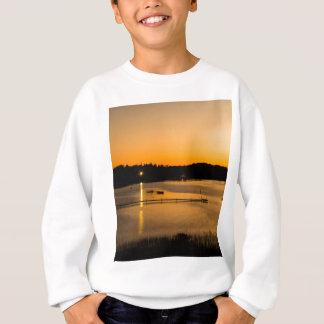 Sonnenuntergang auf Pickerel See Sweatshirt