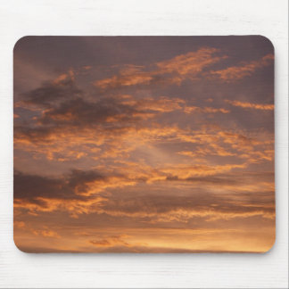Sonnenuntergang bewölkt bunte abstrakte mousepad