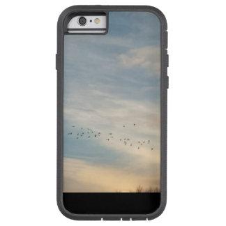 Sonnenuntergang bewölkt sich (Fall) Tough Xtreme iPhone 6 Hülle