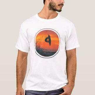 Sonnenuntergang-Brandungs-T-Stück T-Shirt
