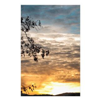 Sonnenuntergang Briefpapier