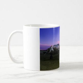 Sonnenuntergang-Buche Kaffeetasse