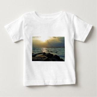 Sonnenuntergang Cape May Baby T-shirt