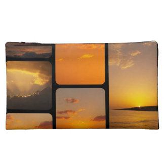 Sonnenuntergang-Collage