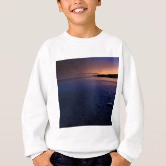 Sonnenuntergang-Dunkelheits-Bucht Sweatshirt