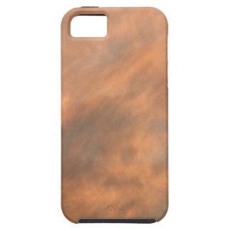 Sonnenuntergang durch Wolken Hülle Fürs iPhone 5