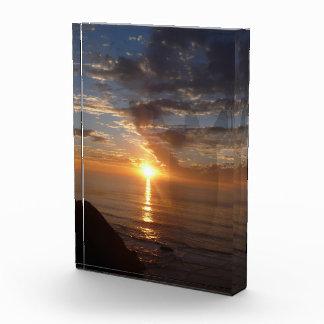 Sonnenuntergang-Enthüllung Acryl Auszeichnung