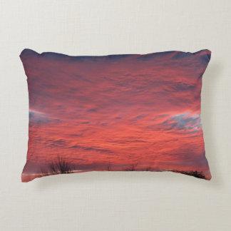 Sonnenuntergang-Entwurfs-Kissen Dekokissen
