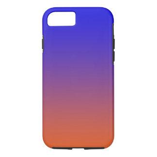 Sonnenuntergang farbiger Telefonkasten iPhone 8/7 Hülle