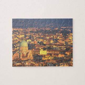 Sonnenuntergang Florenz Italien 1995 Puzzle