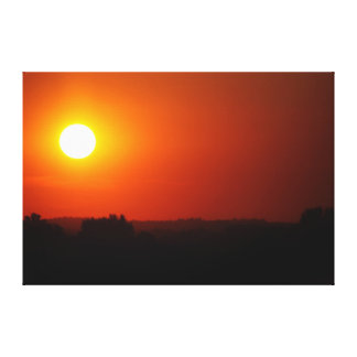 Sonnenuntergang Galerie Faltleinwand