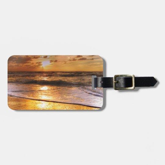 Sonnenuntergang Gepäckanhänger