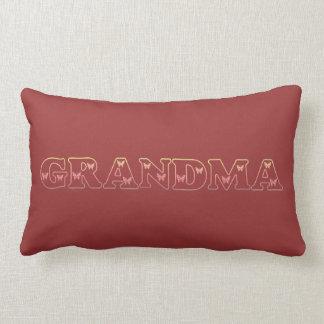 Sonnenuntergang-Großmutter-Schmetterling Lendenkissen