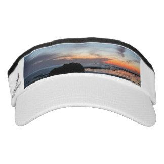Sonnenuntergang Handrys Strand Visor
