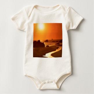 Sonnenuntergang Harris setzen Oregon auf den Baby Strampler