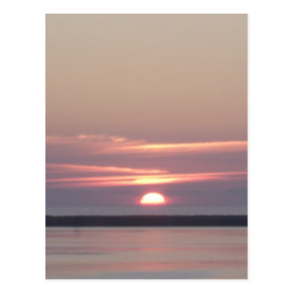 Sonnenuntergang Humboldt-Bucht Eureka Kalifornien Postkarte