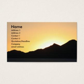 Sonnenuntergang I Visitenkarten