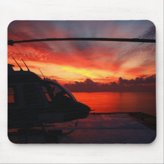 Sonnenuntergang im Golf von Mexiko Mousepads