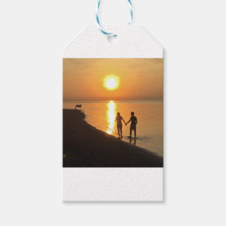 Sonnenuntergang in Bali Geschenkanhänger