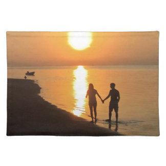 Sonnenuntergang in Bali Tischset
