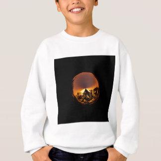 Sonnenuntergang in der Kugel Sweatshirt
