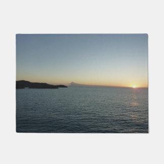 Sonnenuntergang in der Meerblick-Fotografie Türmatte