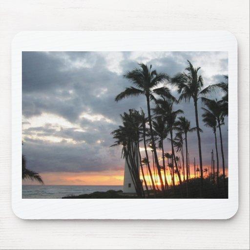 Sonnenuntergang in Hawaii Mousepad