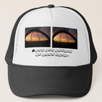 Sonnenuntergang in Ihren Augen Truckerkappe