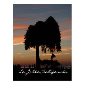 Sonnenuntergang in La Jolla Postkarte