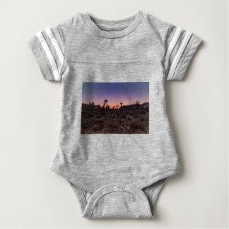 Sonnenuntergang-Joshua-Baum-Nationalpark Baby Strampler