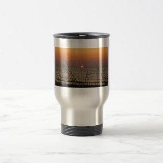 Sonnenuntergang-Kaffee Reisebecher