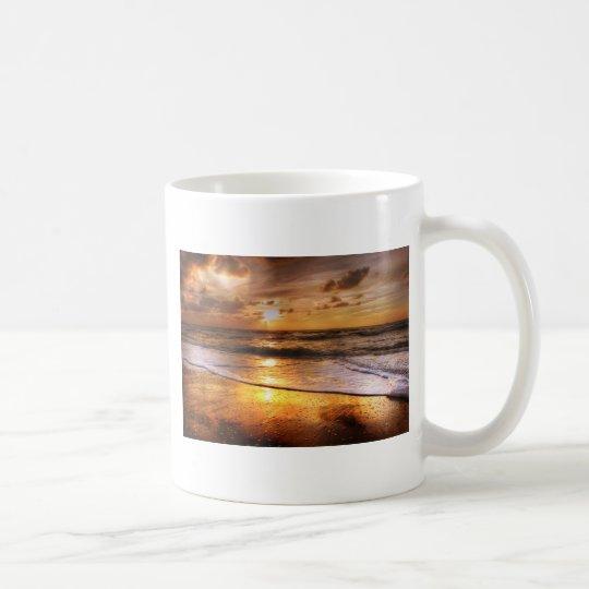 Sonnenuntergang Kaffeetasse