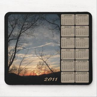Sonnenuntergang-Kalender 2011 Mousepad