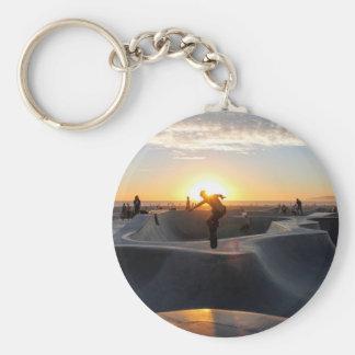 Sonnenuntergang Kalifornien träumt Schlüsselanhänger