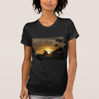 Sonnenuntergang Kauais, Hawaii T-Shirt